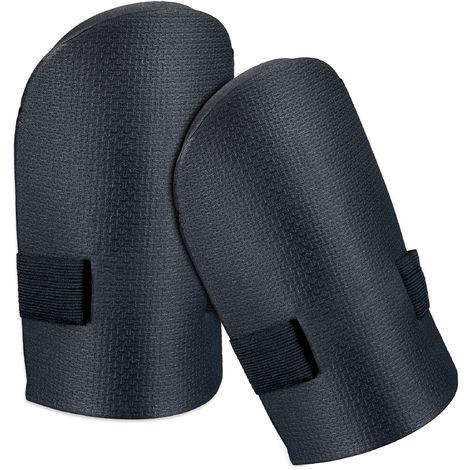 Knieschoner Knieschützer 2 Stück schwarz Kniepolster