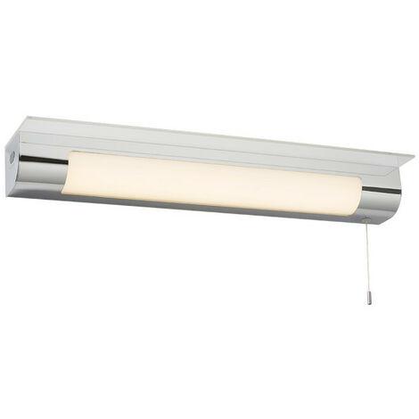Knightsbridge LED Shaver/Shelf Light with USB, 230V IP44 11W