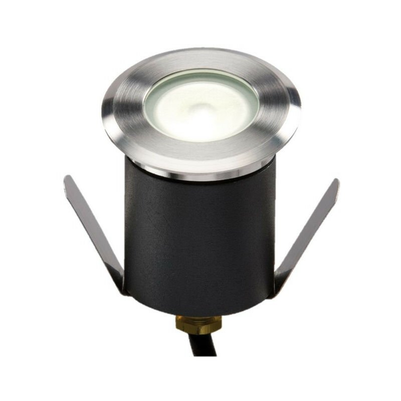 Image of Knightsbridge 4000K High Output LED White Mini Ground Light comes with cable. Non-Dimmable, 230V IP65 1.5W