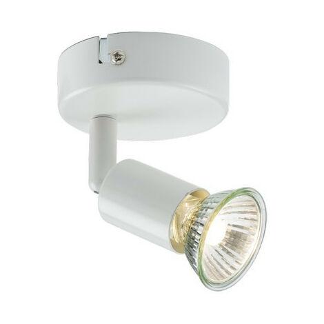 "main image of ""Knightsbridge Single Spotlight - White, 230V GU10"""