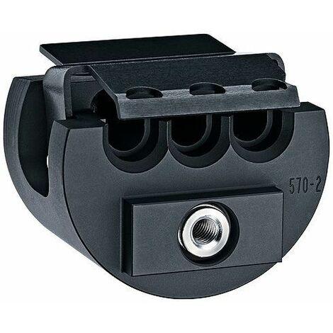 Knipex 97 90 24 Pince à sertir pour embouts de câble 0.08 à 10 mm² pince à dénuder incluse, avec assortiment dembouts dans une mallette