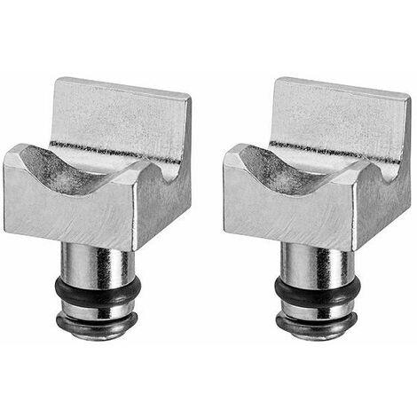 Knipex Assortiment de rechange inserts de préhension, pour 85 51 180 C / 85 51 250 C pour colliers Click - 85 59 250 C