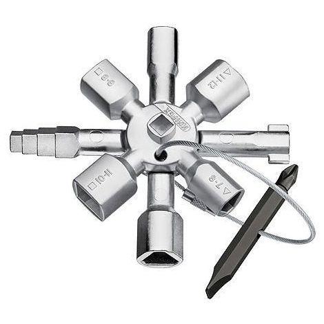 Knipex Control cabinet keys 001101 UNIV. TWINKEY 001101
