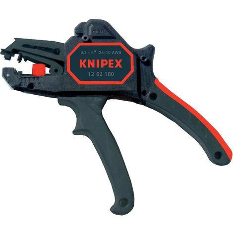 Knipex Drahtseilschere geschmiedet brüniert mit Mehrkomponenten-Hüllen 190 mm - 95 62 190