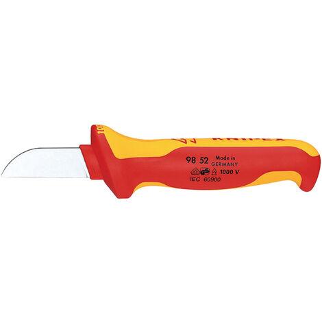 Knipex Kabelmesser 180 mm mit Mehrkomponenten Griff