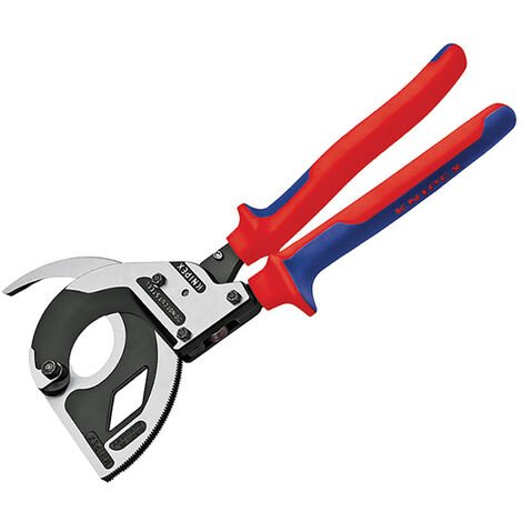 Knipex KPX9532320 Cable Cutters 3 Stage Ratchet Action 320mm (12.1/2in)