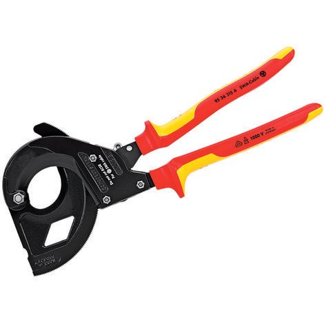 Knipex KPX9536315 VDE Cable Cutter For SWA Cable