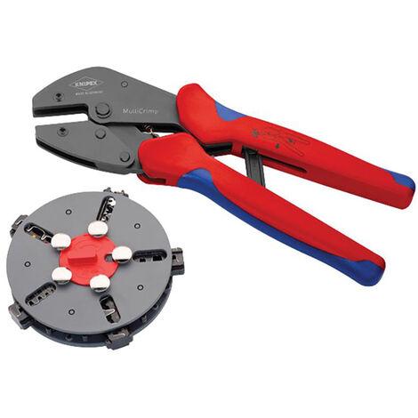 Knipex KPX973302 Multicrimp Pliers Set - 5 Quick Change Cartridges