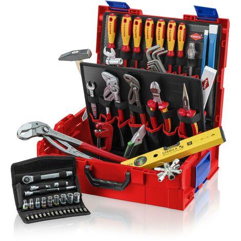 Knipex L-BOXX Sanitaire 52 pièces - 00 21 19 LB S