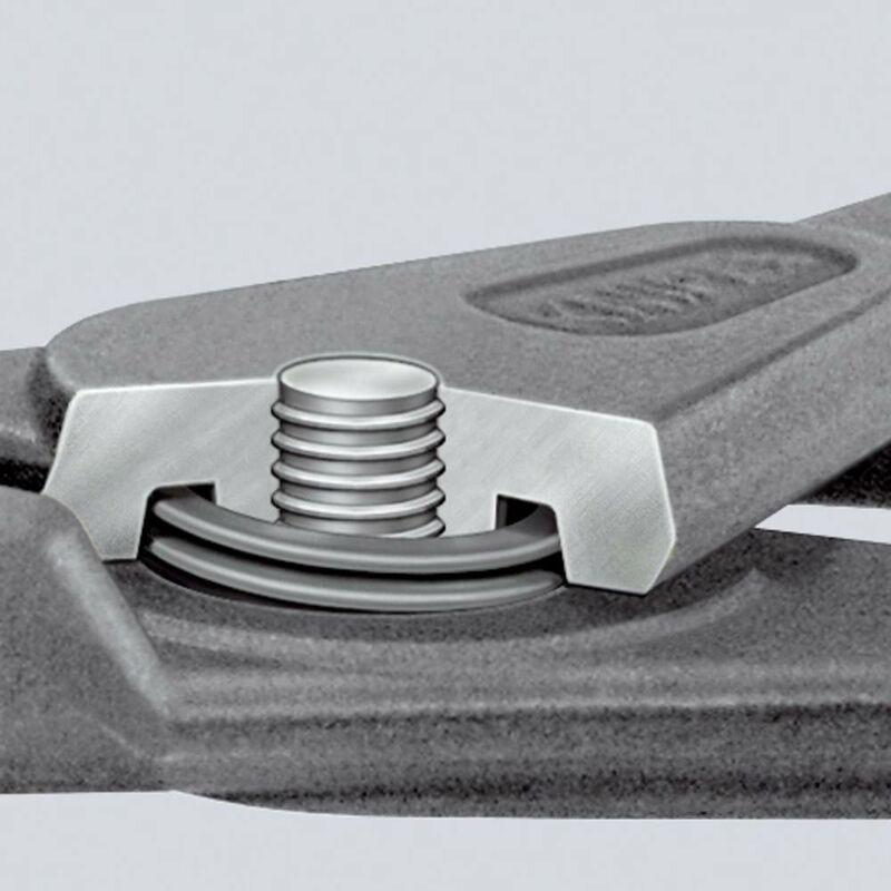KNIPEX 00 21 25 Jeu de pinces de pr/écision pour circlips 8 outils