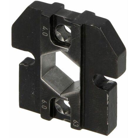 Knipex profil de sertissage, 4-6 qmm (Huber & Suhner)