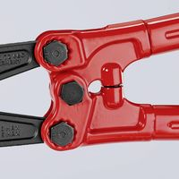 Knipex Tagliabulloni bonderizzata grigia rivestiti in materiale bicomponente 760 mm - 71 72 760
