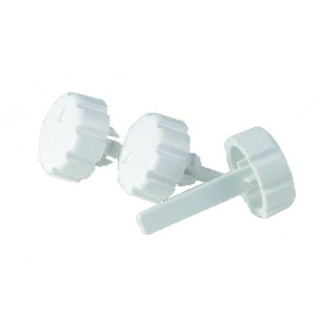 Knob kit thermostat & selector switch - FERROLI : 39808790