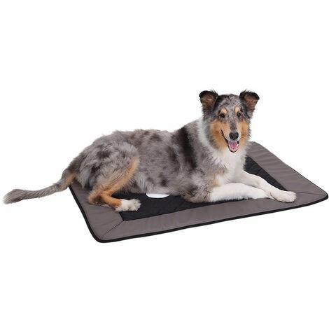 Knuffelwuff Fim Excklusive, Tapis universel pour chien en velours et similicuir