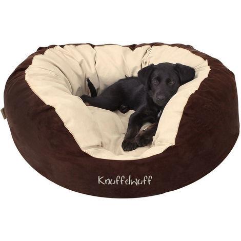 Knuffelwuff Hundebett Dooly aus Velours