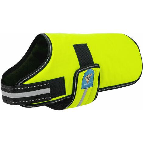 Knuffelwuff Hundemantel Funktionstextil reflektierend Neon verschiedene Größen