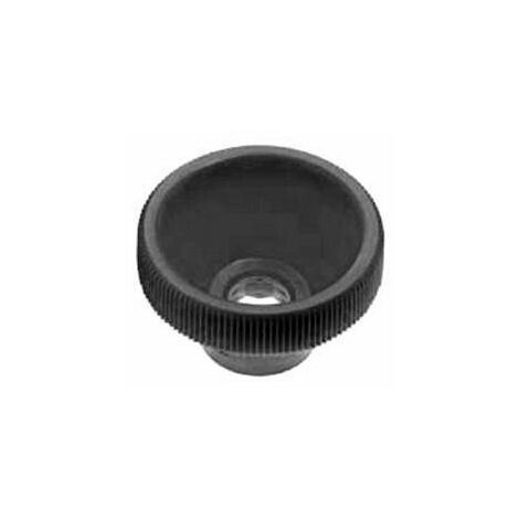 Knurled knob for hexagon bolts and nuts Plastic Polyoxymethylene high
