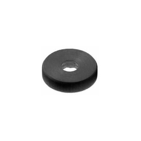 Knurled knob for hexagon bolts and nuts Plastic Polyoxymethylene thin