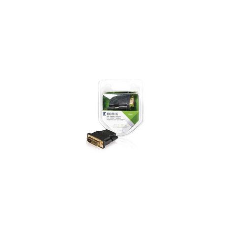 KNV34912E ADAPTADOR DVI-D MACHO - HDMI HEMBRA 1U GRIS
