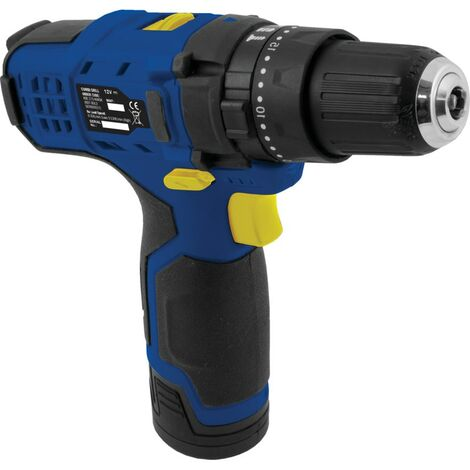 Kobe 12V CORDLESS COMBI DRILL PACK WITH 2 X 1.3AH