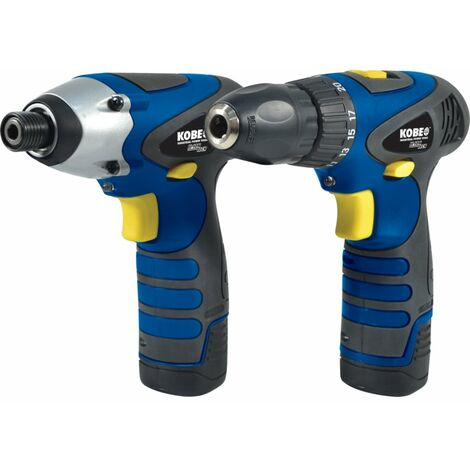 Kobe 12V DRILL / DRIVER TWIN PACK WITH 2 X 1.3AH