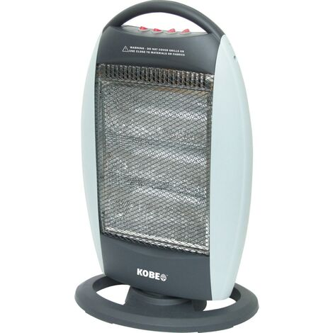 Kobe Halogen Heater With 3 Heat Settings