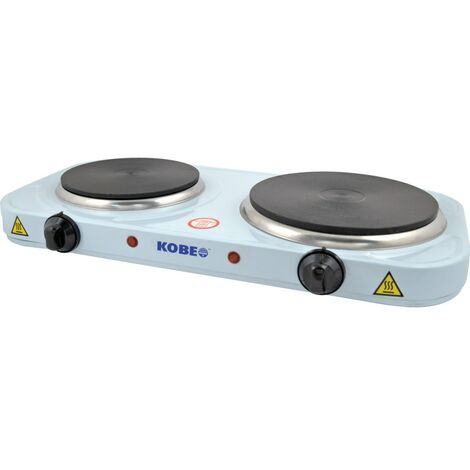 Kobe HPD250 Portable Hot Plate Two Elements 190mm 1.5KW and 160mm 1KW 240V