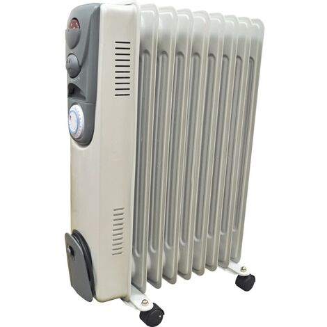 Kobe Oil Filled Radiator 9 Fin 2KW Timer + 3 Settings