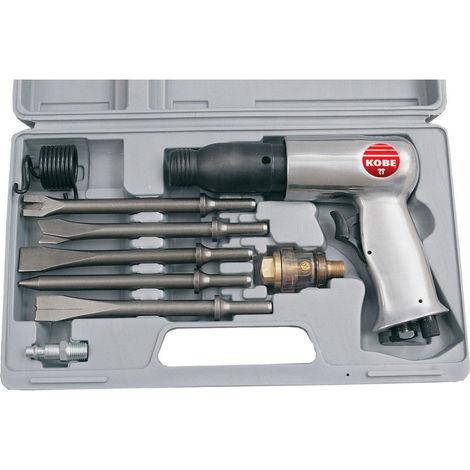 Druckluft Meißel Drucklufthammer Druckluftmeißelhammer Schlaghammer inkl Koffer