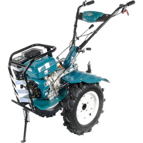 Könner & Söhnen KS 9HP-1350G-3 (500) motoculteur à essence, boîte de vitesses, soc réglable, largeur travail jusqu'à 134cm, profondeur labourage jusqu'à 35cm, moteur thermique 9,0 CV, tous types de sols.