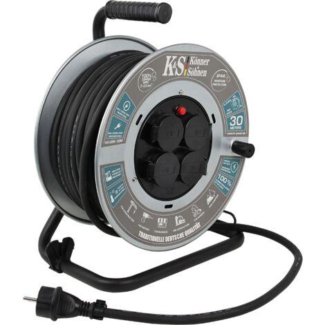 Könner & Söhnen KS CRM-30M enrouleur de câble électrique.