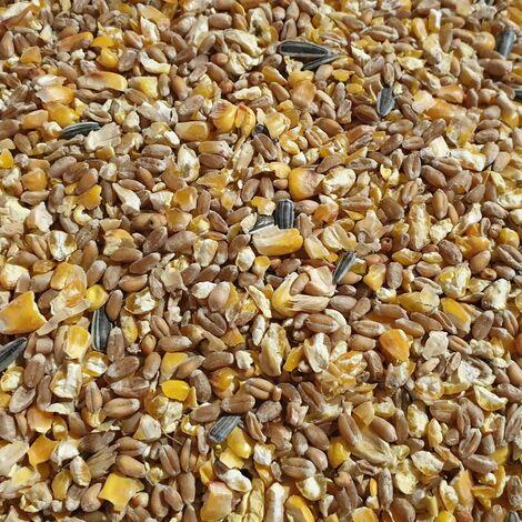 Körnerfutter Universal 25kg Geflügelfutter Körner Extra Hühnerfutter Grundfutter