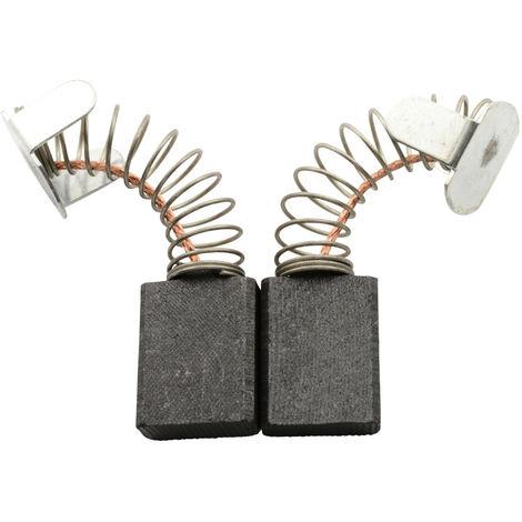 Kohlebürsten für Ryobi Hobelmaschine AP10 - 6,4x13,4x17mm