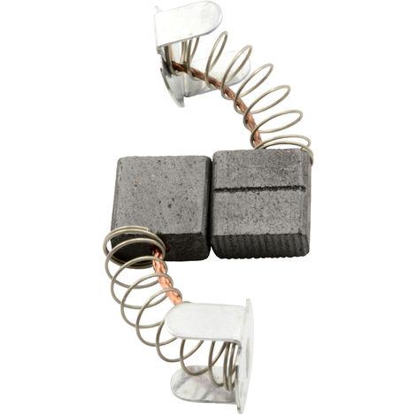 Kohlebürsten für Ryobi Hobelmaschine L282 - 5x10x10mm