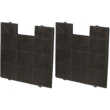 Kohlefilter für KF 17142 (2 Stück) - passend für AMICA KH17158, KH 171128