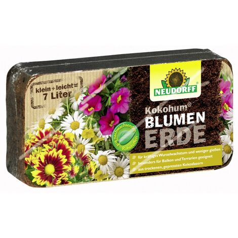 Kokohum Blumenerde 7 l (1 Brikett)