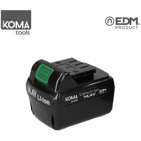 """main image of """"KOMA TOOLS 08730 BATERIA RECAMBIO - LITHIUM-ION - 14,4V PARA TALADRO/ATORNILLADOR REF: 08703"""""""