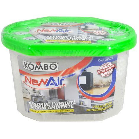 KOMBO - Assorbiumidità con vaschetta di raccolta da 600ML