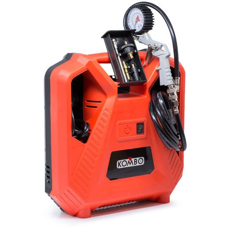 Kombo Compressore elettrico 1100W portatile pistola manometro KO277P/XXL
