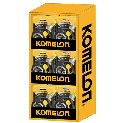 Komelon KOMMAGXTD12 MAG-XT Tape Measure 5m/16ft Display of 12