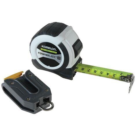 Komelon Powerblade 2 8m /26ft Tape Measure Metric Imperial KOM826PROPK KOMW826PK