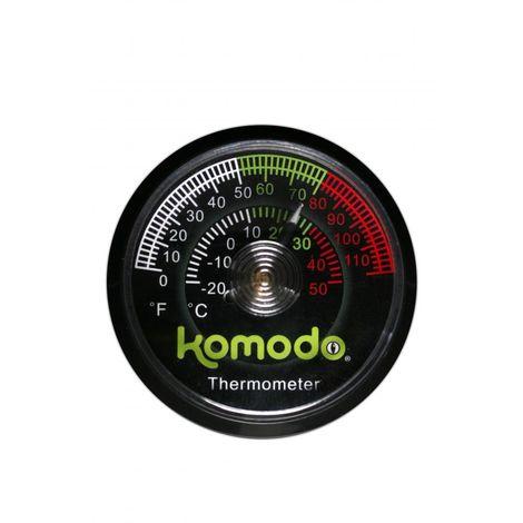 Komodo Analog Thermometer (Einheitsgröße) (kann variieren)