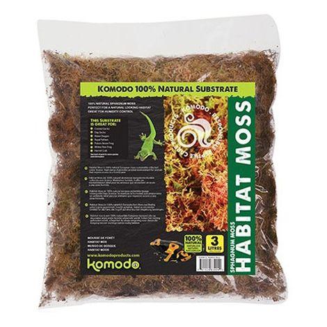 Komodo Habitat Woodland Moss (1.5L) (May Vary)