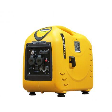 "main image of ""KOMPAK Groupe électrogène 3300W Essence 230V Inverter insonorisé KGG3000SEI - jaune"""