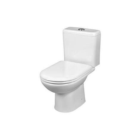 KOMPAKT Stand WC Abgang waagerecht, weiß