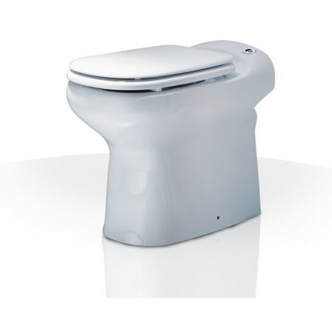Kompakt-WC Sanicompact Luxe, mit integr. Hebeanlage, m.WT-Anschluss, weiß