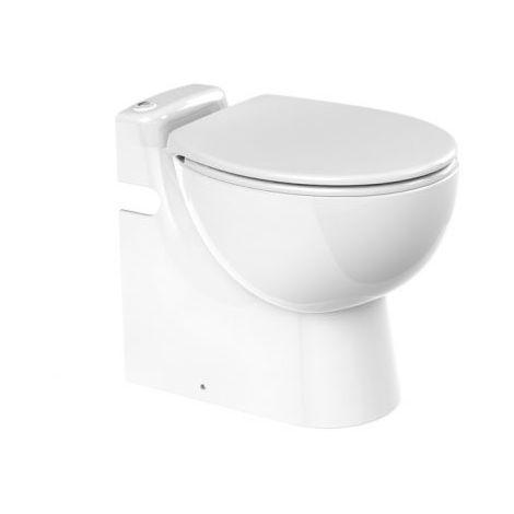 Kompakt-WC Sanicompact Pro, mit integrierter Hebeanlage, m. WT-Anschluss