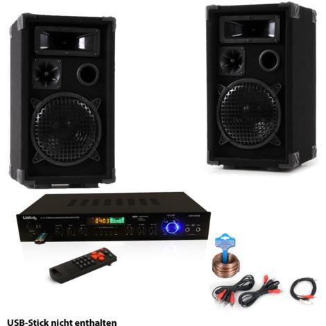 Kompakte Party Musikanlage mit Bluetooth Receiver DJ-Smart