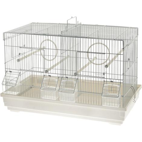 Kompletter Käfig für Kanarienvögel Modell Padova