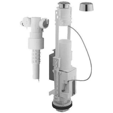 Kompletter WC Eco Set Mechanismus für angrenzendes Tankschwimmerventil Art.-Nr. 37498PI0